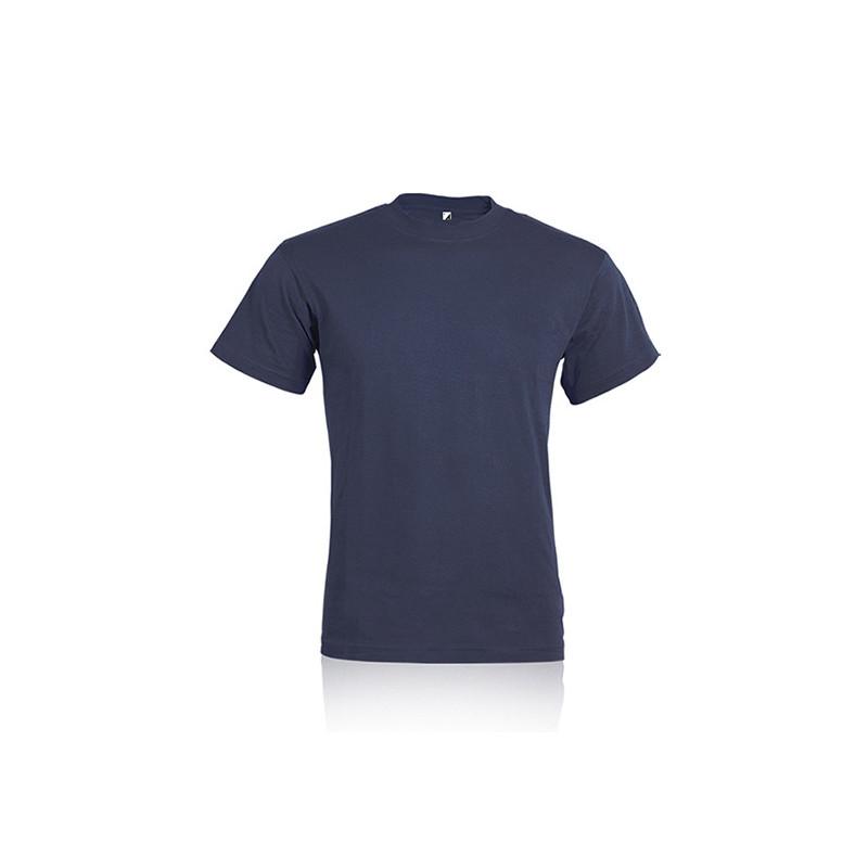 PM328 - T - shirt ragazzo / bambino cotone pettinato Blu PM328BLXS