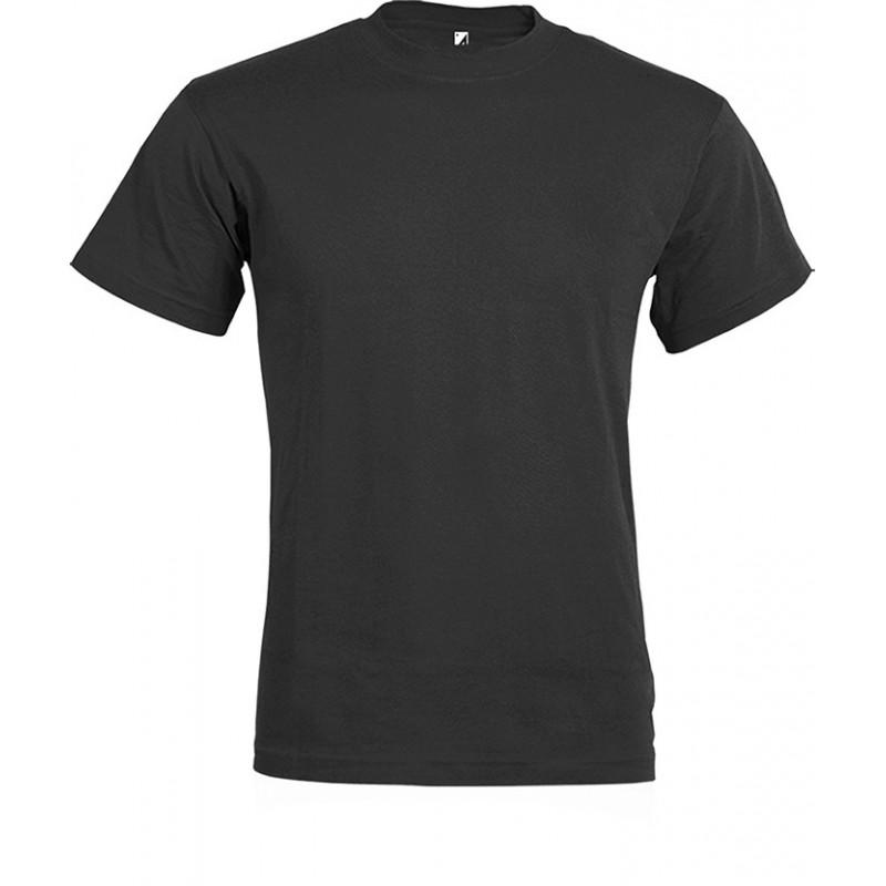 PM328 - T - shirt ragazzo / bambino cotone pettinato Nero PM328NEXS