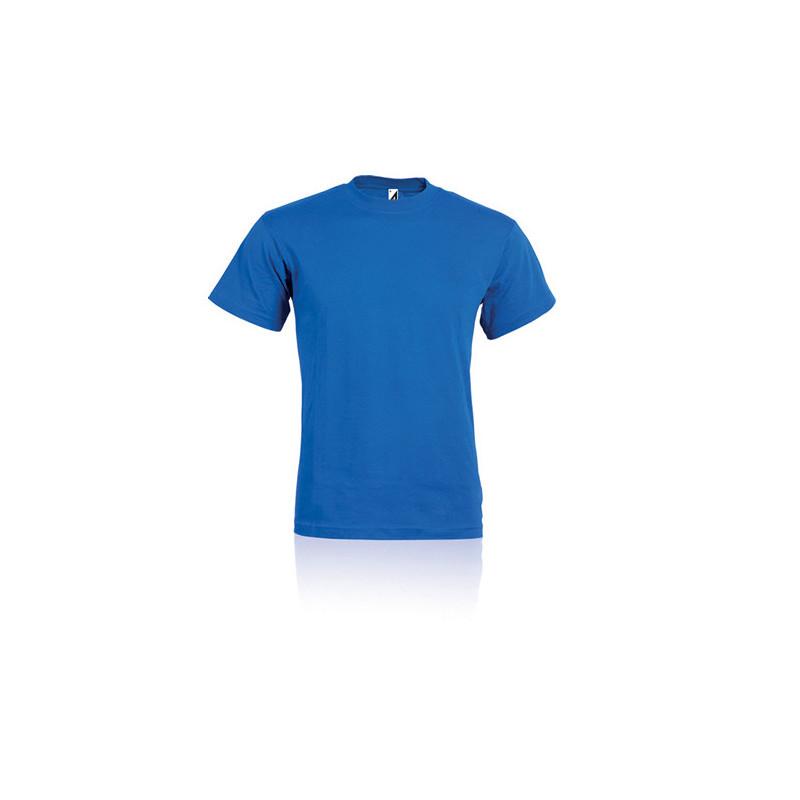 PM330 - T - shirt adulto cotone pettinato Blu Royal PM330RYL