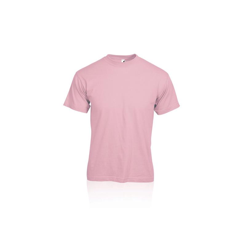 PM330 - T - shirt adulto cotone pettinato Rosa PM330RSL