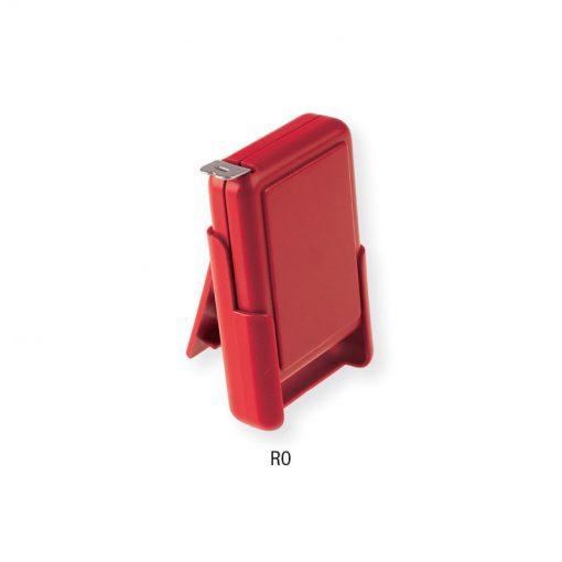 PN288 - Flessometro riavvolgibile con custodia Rosso PN288RO