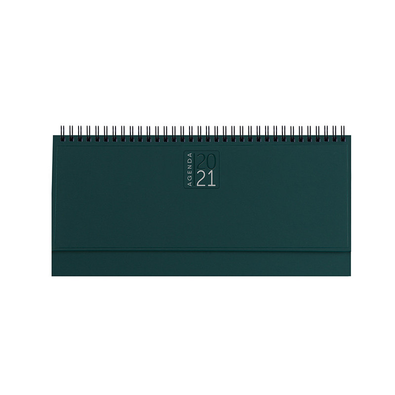 PB489 - Planning 128 pagine F.to cm 30x14 ca (chiuso) Verde PB489VE